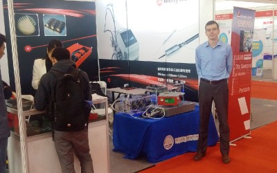 Melsytech participates in an industry event in Beijing, China.